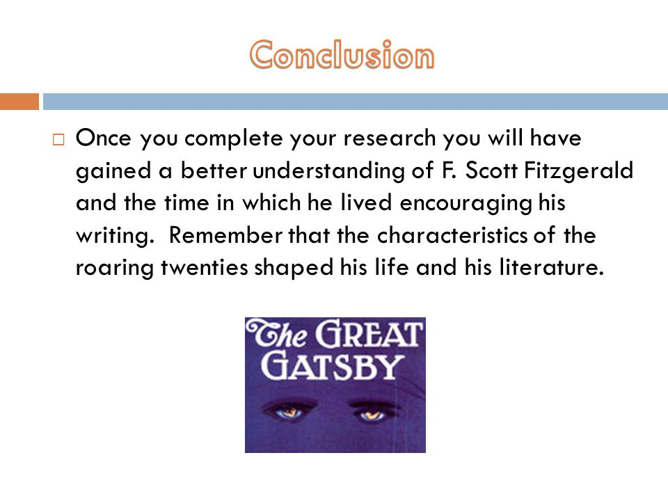  Once you complete your research you will have gained a better understanding of F.