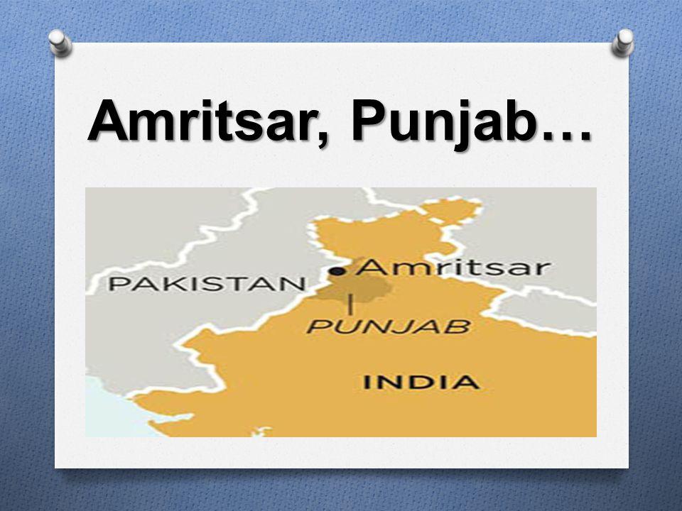 Amritsar, Punjab…