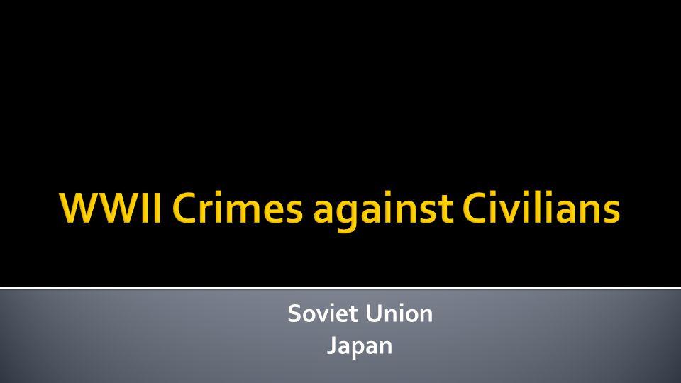 Soviet Union Japan