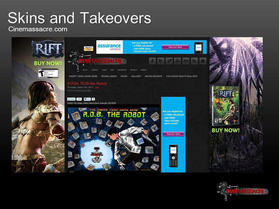 Skins and Takeovers Cinemassacre.com