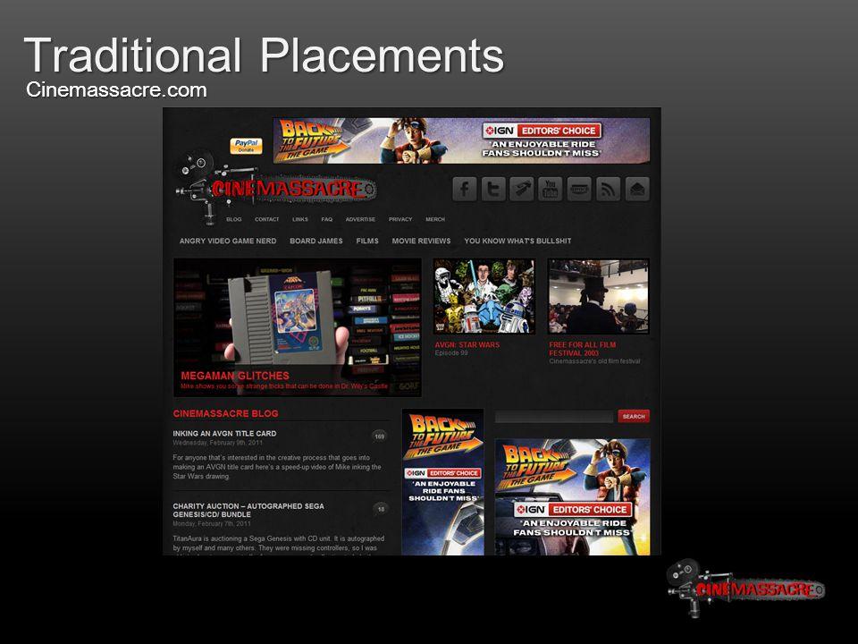 Traditional Placements Cinemassacre.com