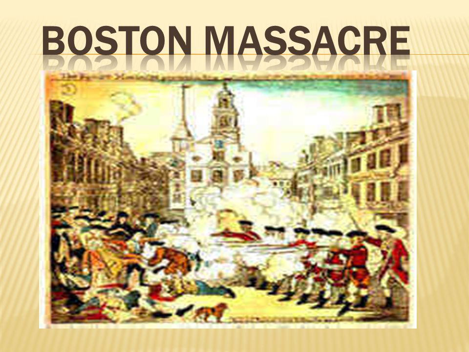 Britain sent soldiers to Boston to protect customs officials.