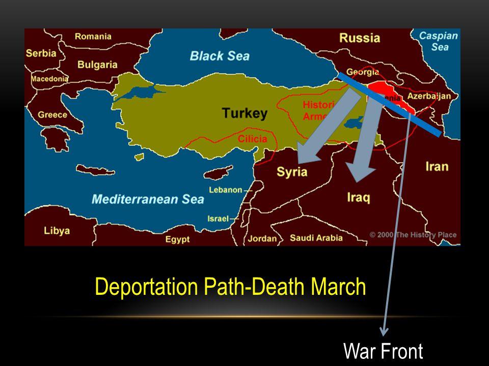 Deportation Path-Death March War Front