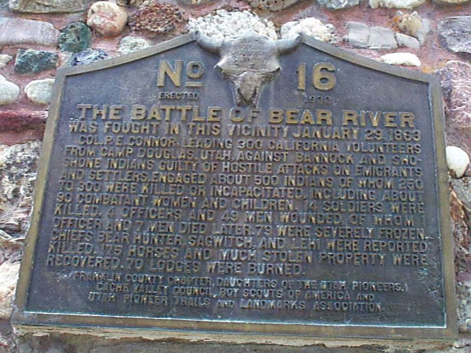 THE BLACK HAWK WAR 1865-1868  As more and more Mormons moved into Utah, the Indians lost more and more land.