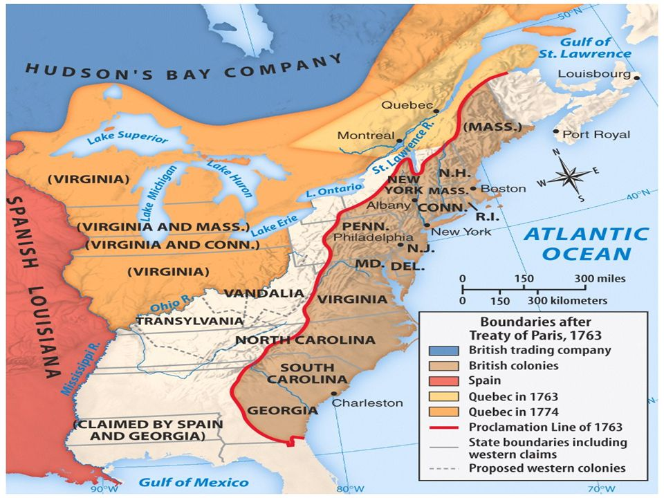 Description- A border drawn by the English that forbid colonists to move westward.