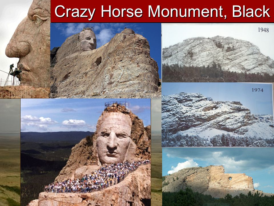 Crazy Horse Monument, Black Hills, SD