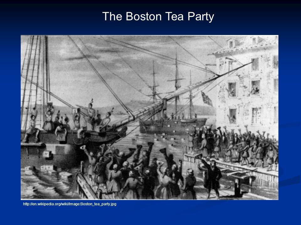 http://en.wikipedia.org/wiki/Image:Boston_tea_party.jpg The Boston Tea Party