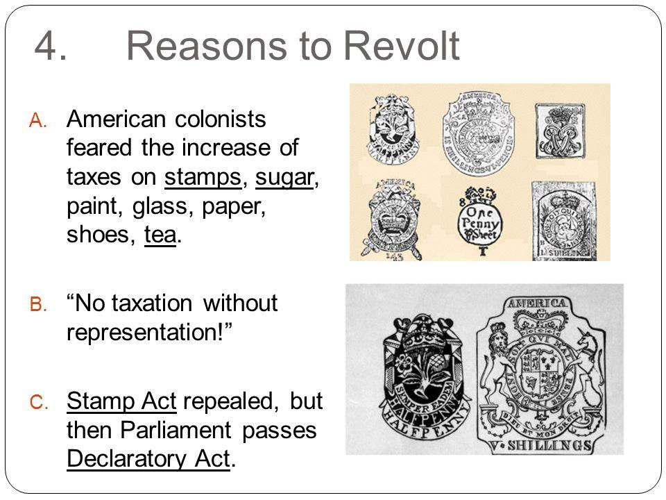 4. Reasons to Revolt A.