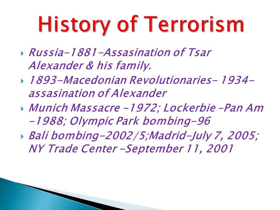  Russia-1881-Assasination of Tsar Alexander & his family.