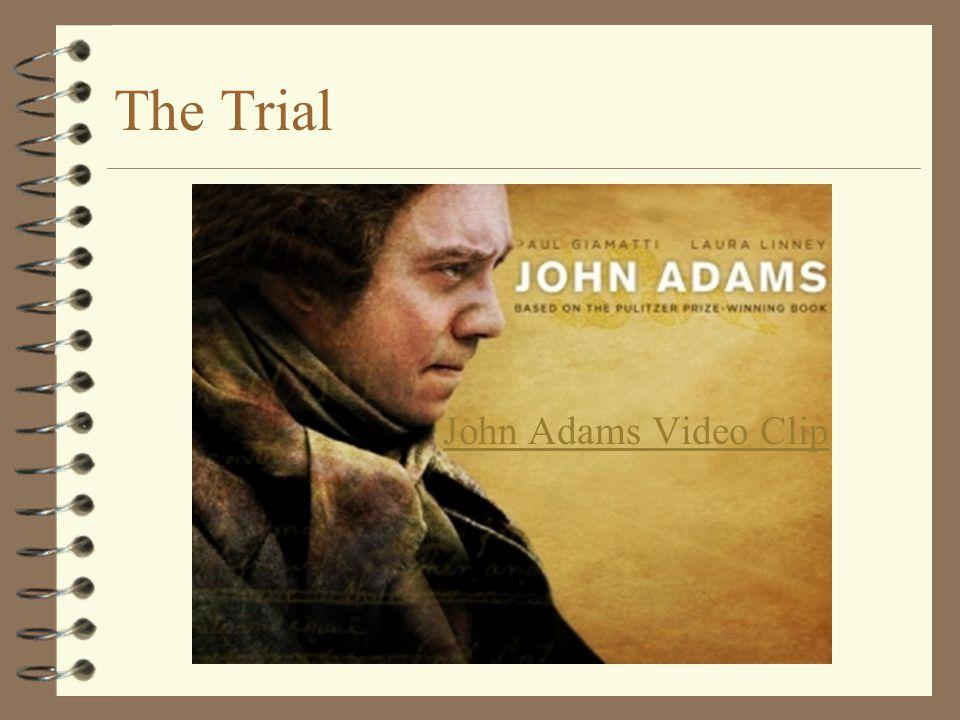 The Trial John Adams Video Clip