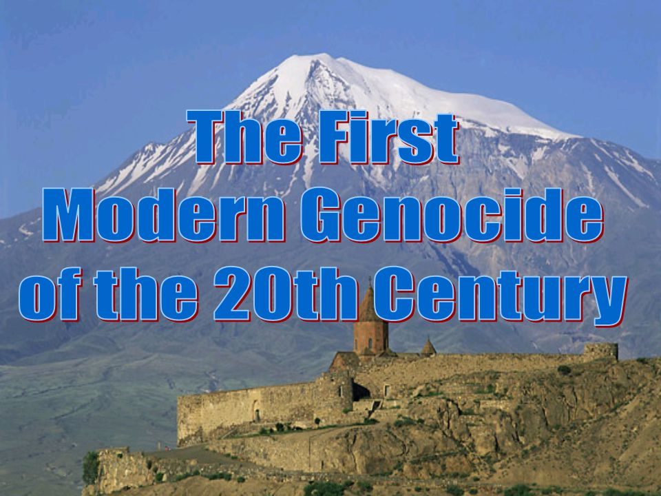 The Armenian Genocide, 1915 U.S.