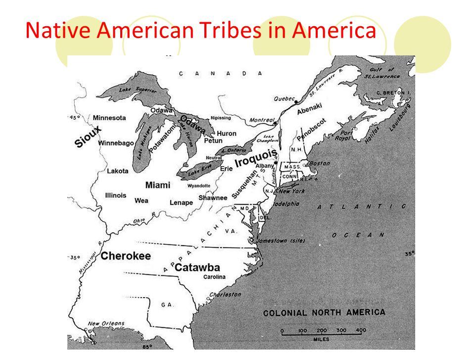 Native American Tribes in America