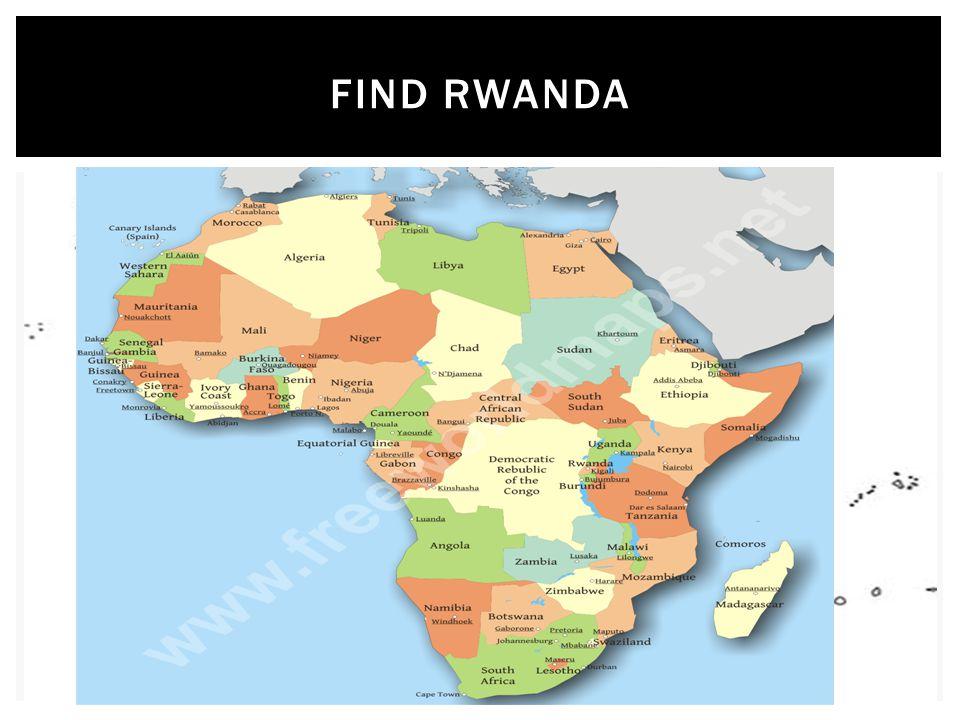 FIND RWANDA