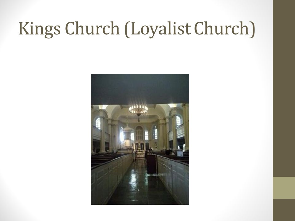 Kings Church (Loyalist Church)