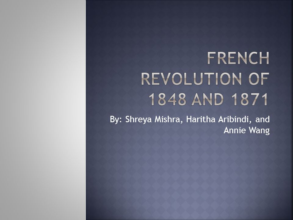  1852-1871- The regime of Napoleon the Third is called the Second French Empire.