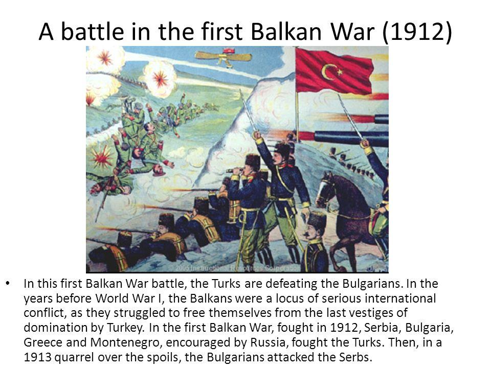 Resting after battle during Turkish revolution Soldiers resting after a battle during the 1911 Turkish revolution.