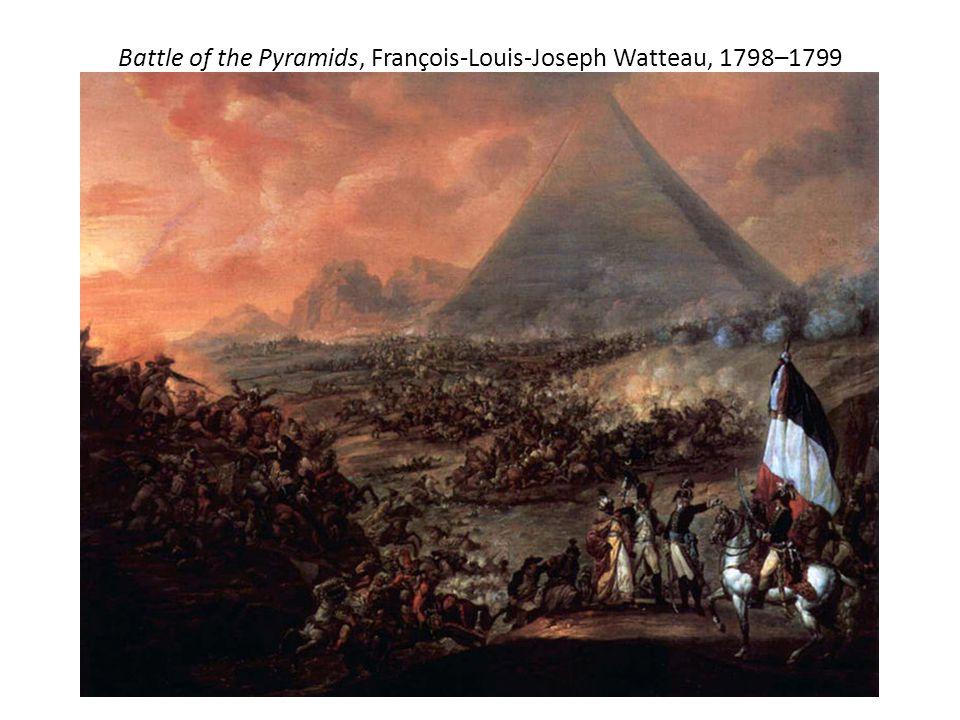 1798- Napoleon Bonaparte The Battle of the Pyramids (Egypt)