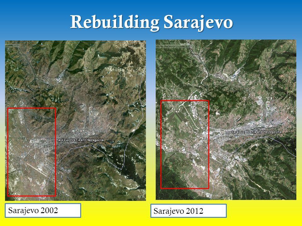 Rebuilding Sarajevo Sarajevo 2002 Sarajevo 2012