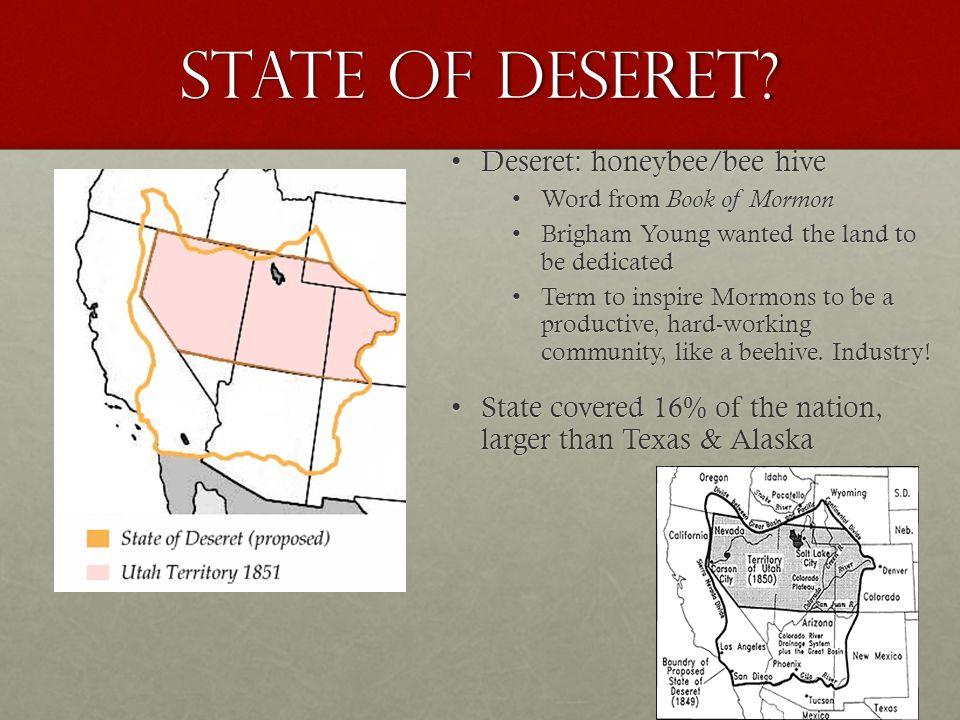 State of Deseret.