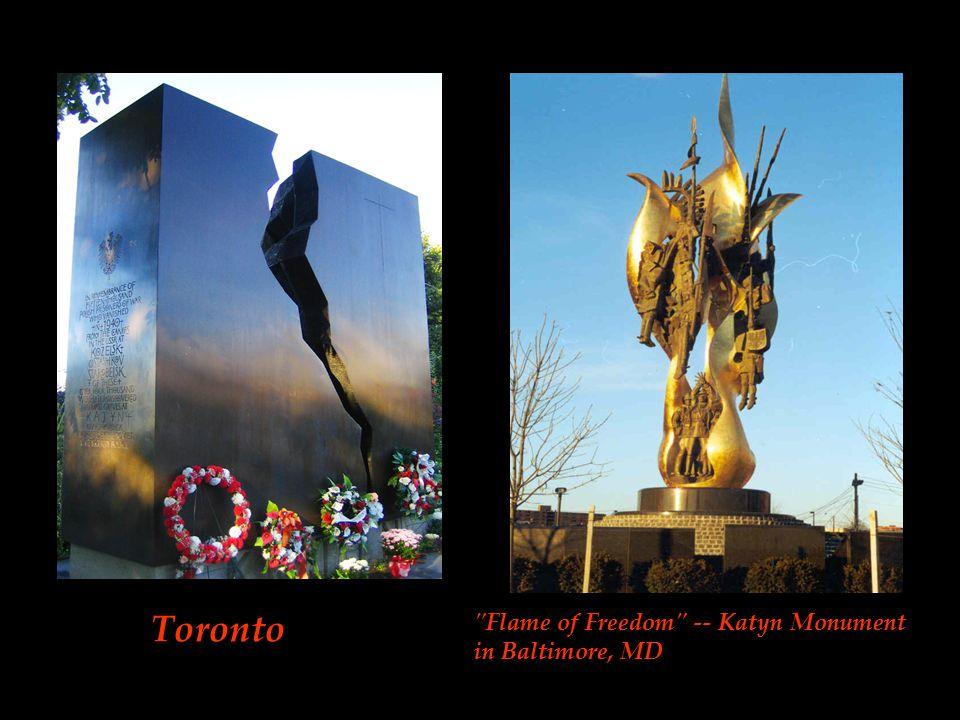 Katyn-Kharkov-Mednoye memorial