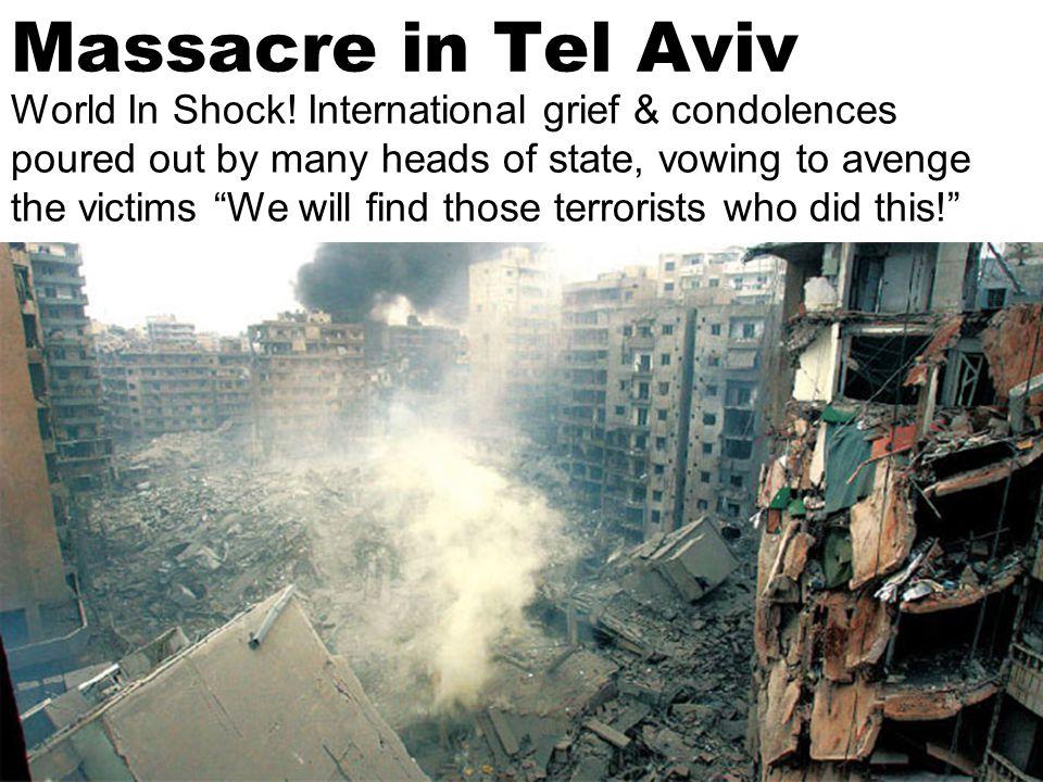 Tel Aviv Merciless Bombed.Sneak rocket attacks take Israel by surprise.