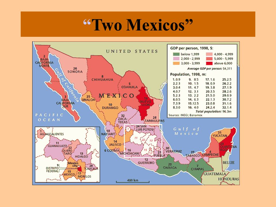 """Two Mexicos"""