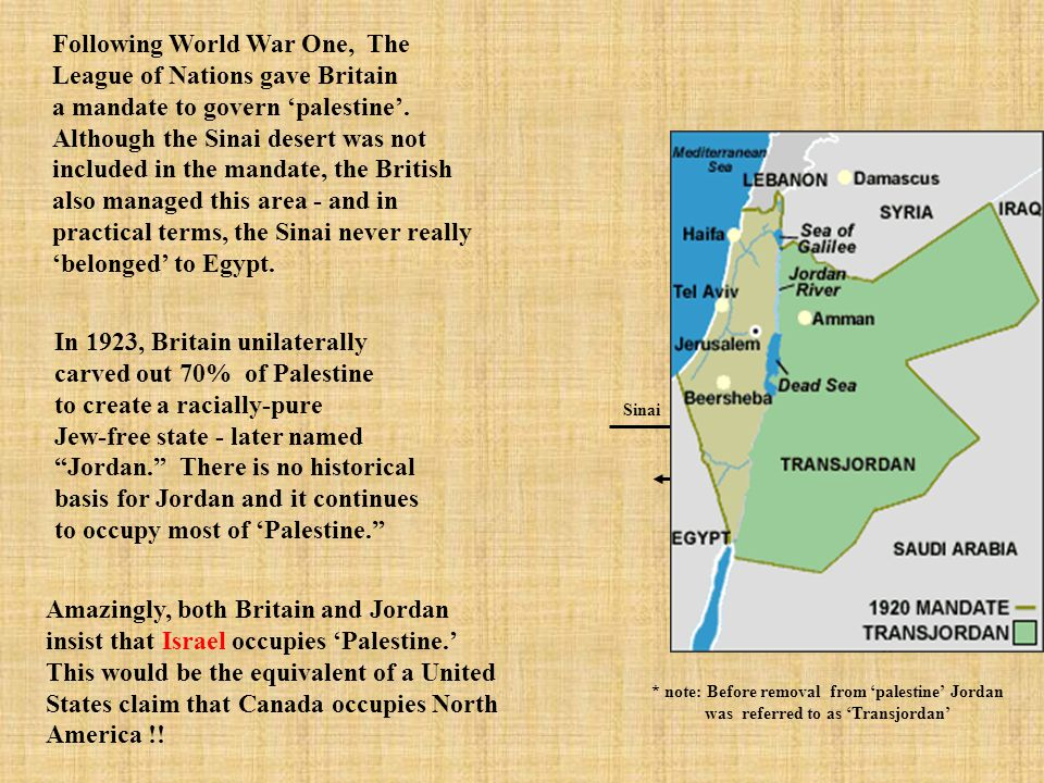 """Fairy Tale number 1: """"Palestine"""" The term 'Palestine' was coined by Roman occupiers to describe the area on this map. It is just that - an area. Durin"""