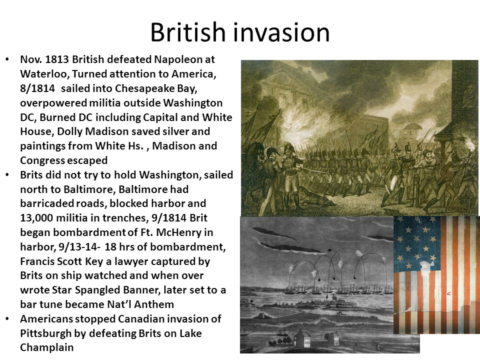 Battle of New Orleans America and Eng.