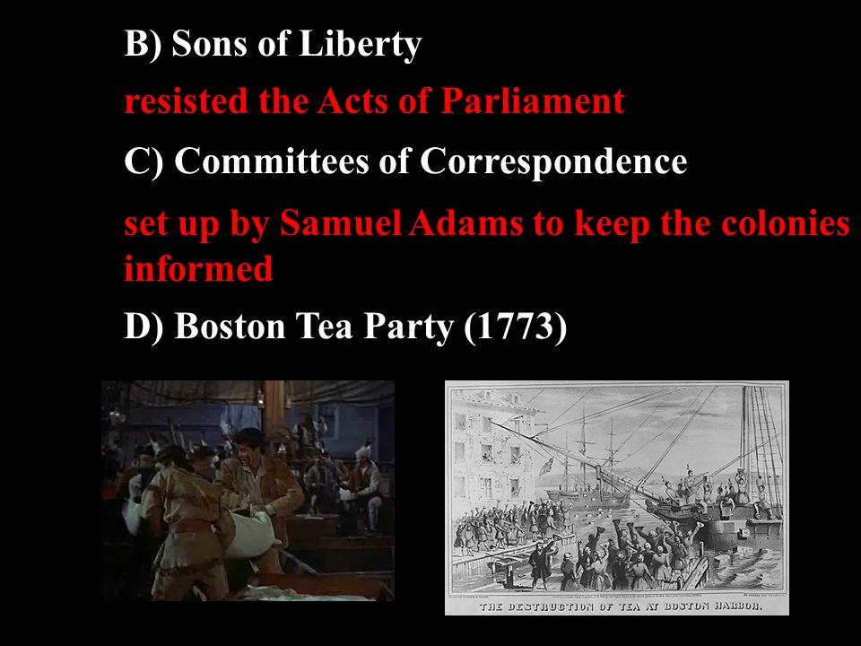 4) Boston Massacre (1770) Crispus Attucks
