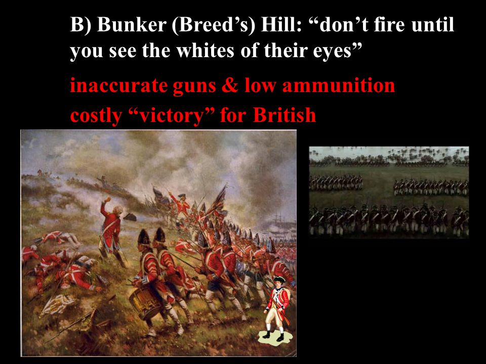 II) Revolution Begins: Lexington & Concord A) Paul Revere (April 19, 1775)