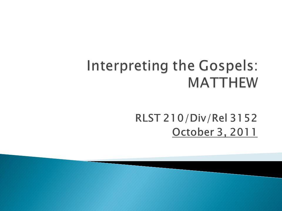 RLST 210/Div/Rel 3152 October 3, 2011