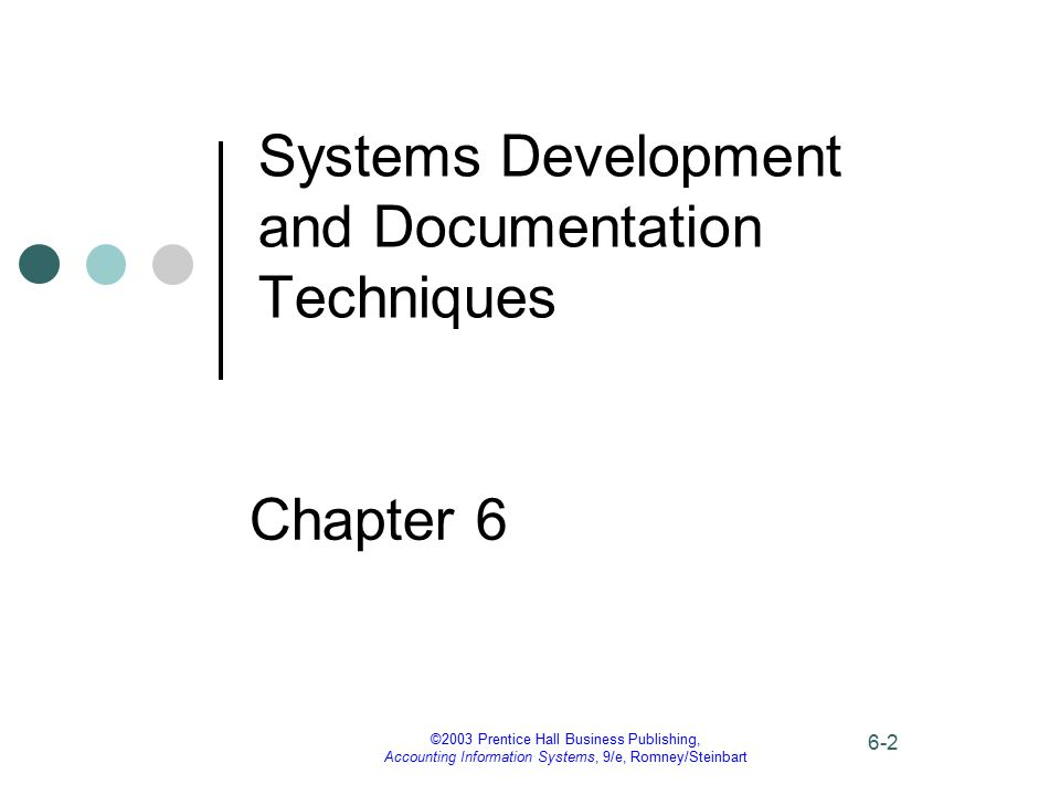 ©2003 Prentice Hall Business Publishing, Accounting Information Systems, 9/e, Romney/Steinbart 6-23 Data Flow Diagrams The context diagram for S&S payroll processing shows that the payroll processing system...