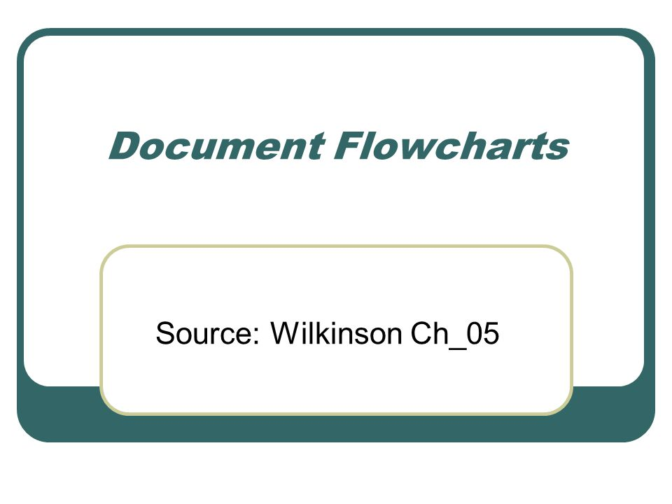 System Flowcharting Symbols Miscellaneous - II Annotation for additional explanation Bridge for crossing flows Batch total - any total Goods; e.g., inventory shipment