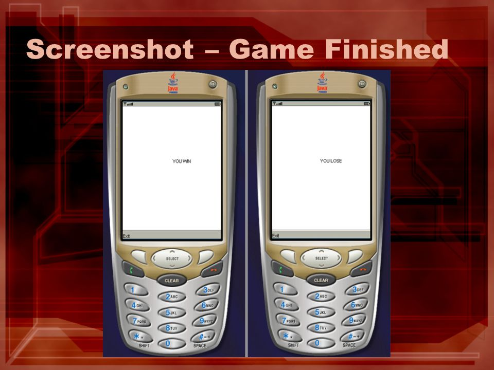 Screenshot – Game Finished