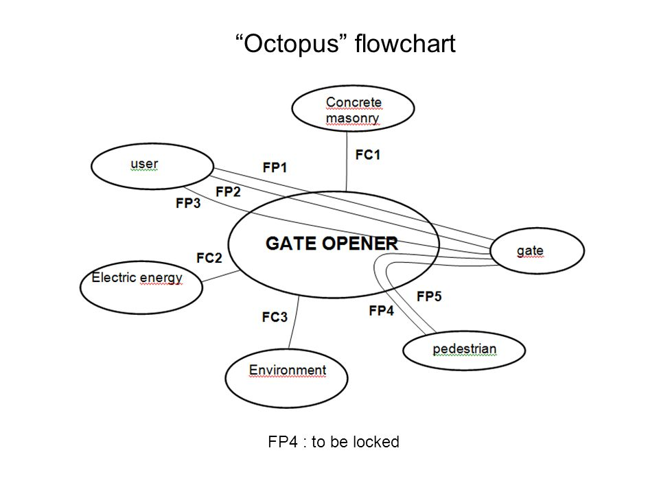 Octopus flowchart FP4 : to be locked