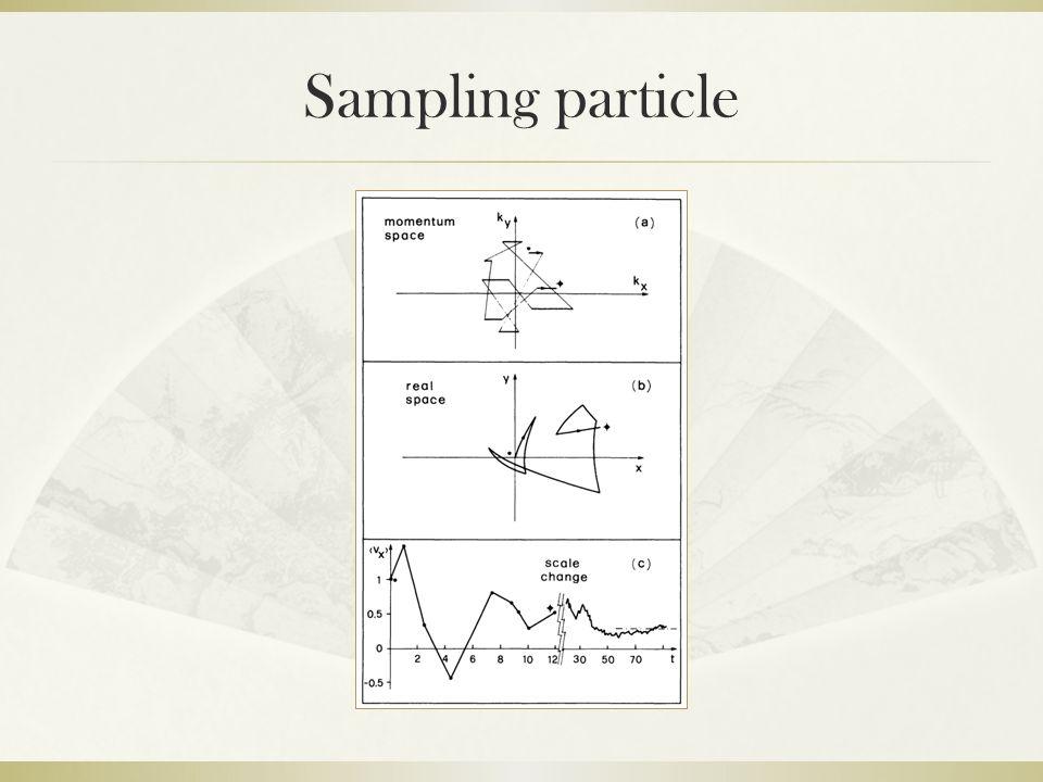 Sampling particle