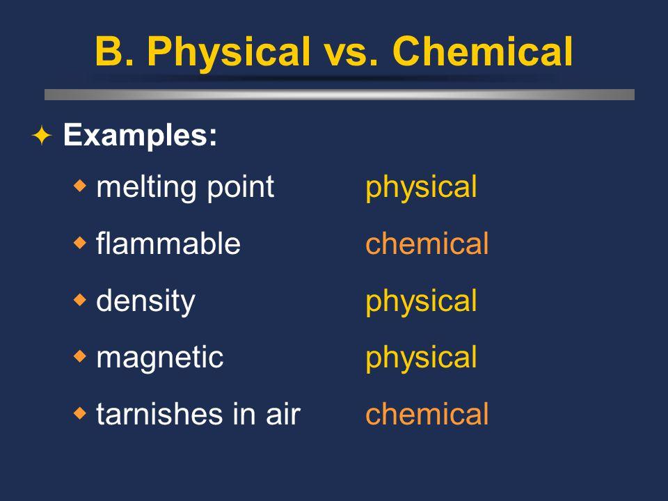 B. Physical vs.