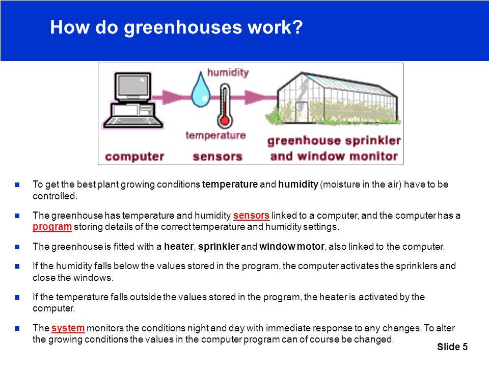 Slide 5 How do greenhouses work.