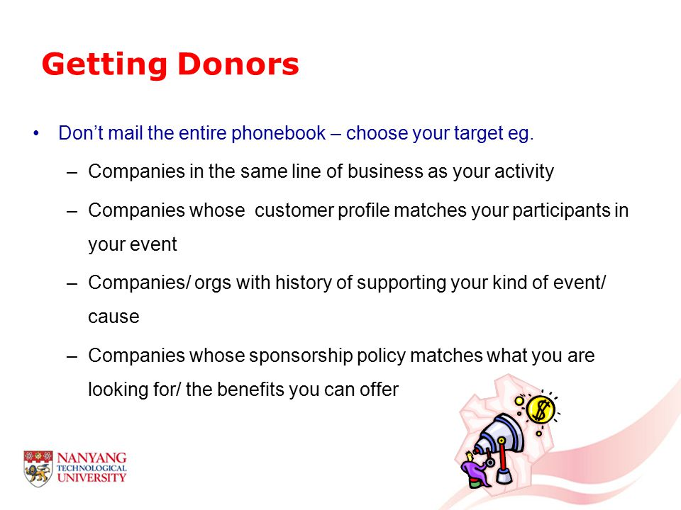 Getting Donors Leverage on existing relationships eg.