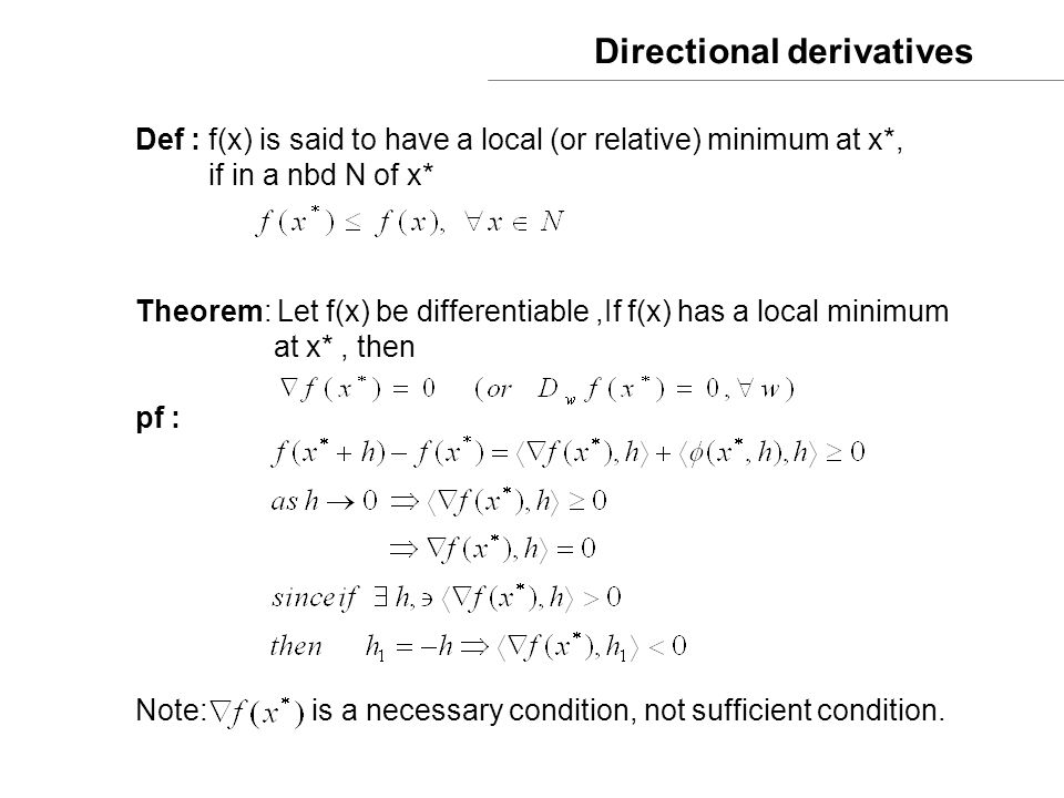 Steepest Descent [Q] : how do we choose and .(i) Two points equal interval search i.e.