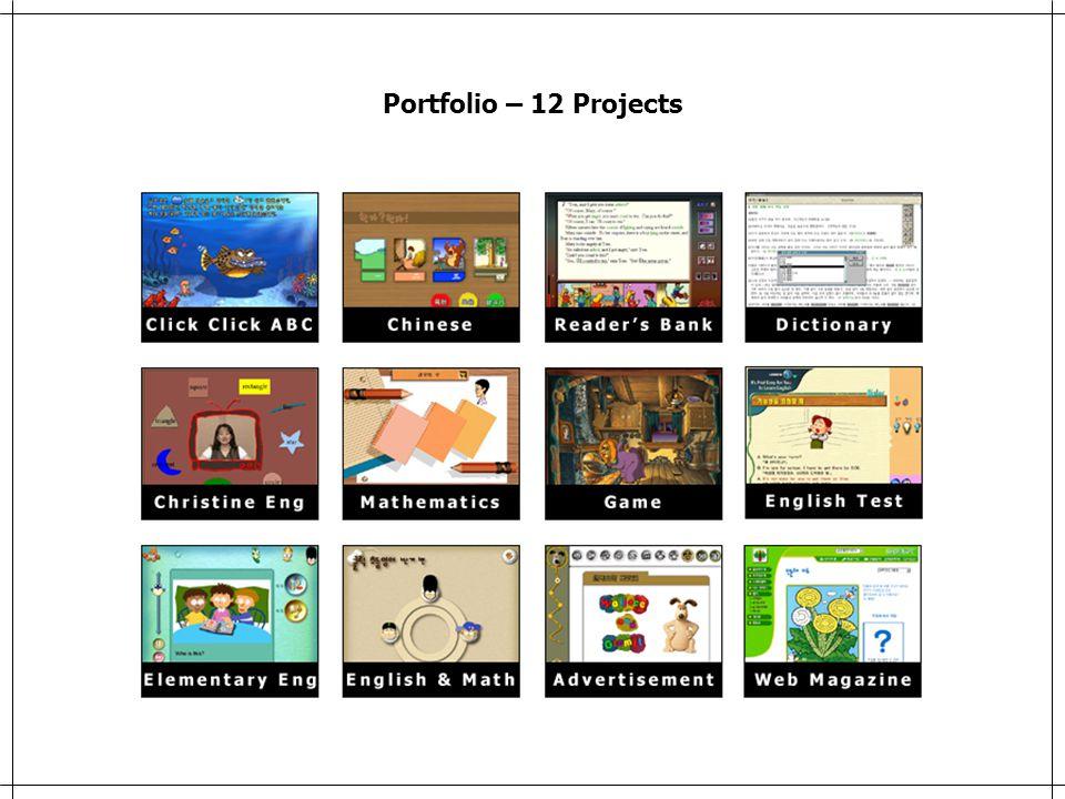 Portfolio – 12 Projects