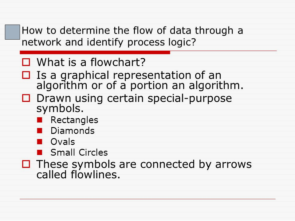 Symbols  Rectangle Also called action symbol Indicates any type of action including a calculation or an input/output operation Add 10 to Grade