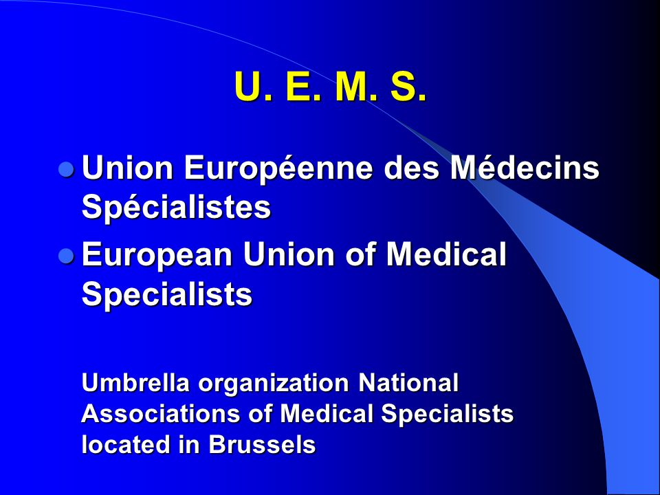 Event Draft Flowchart Accreditation in Europe International European Accreditation Bodies Evaluate the value of the meeting Propose a number of credits National Accreditation Authorities Accept the scientific evaluation by the UEMS Sections and Boards Apply the number of credits relating to the national rules