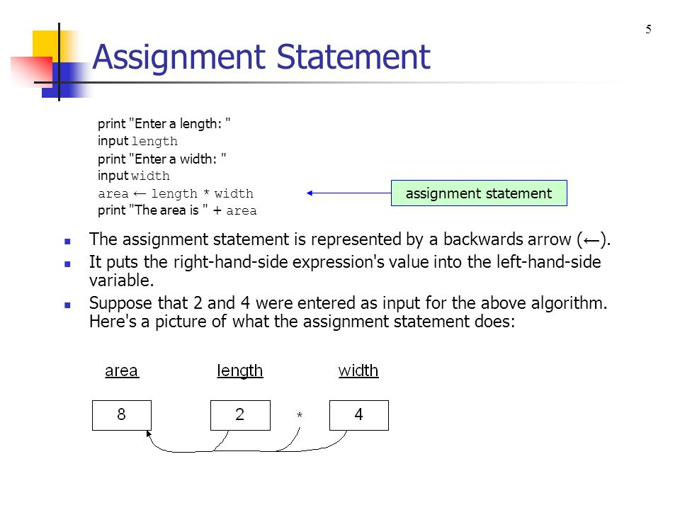 if Statement Use an if statement if you need to ask a question in order to determine what to do next.