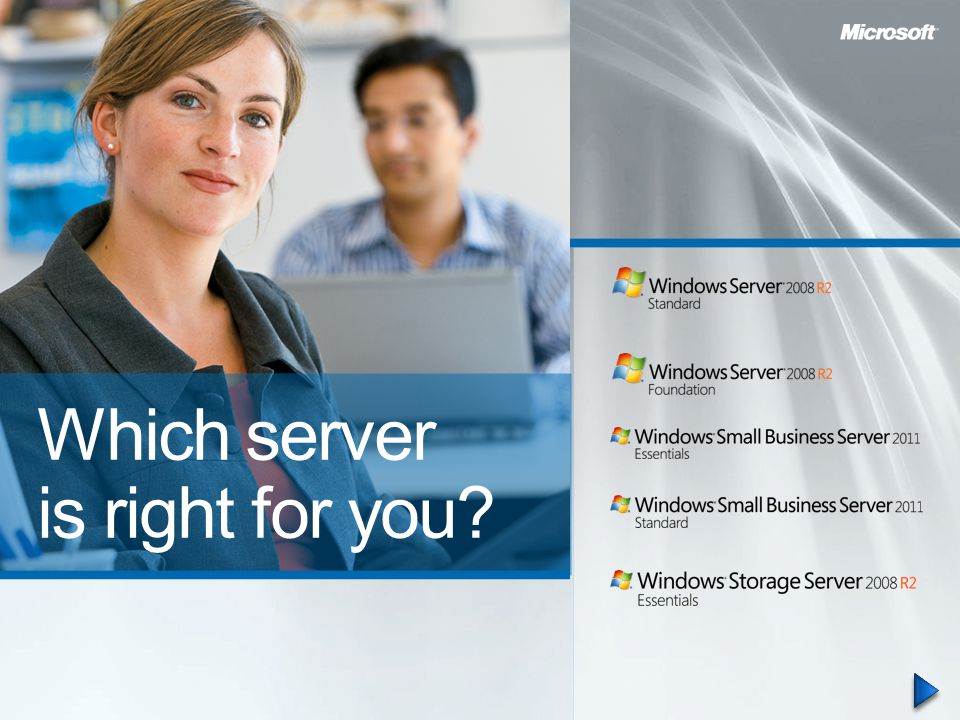 Which server is right for you