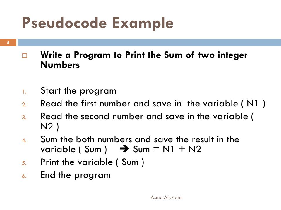 Example 5 Asma Alosaimi 16  Draw a flowchart to find the sum of first 50 natural numbers.