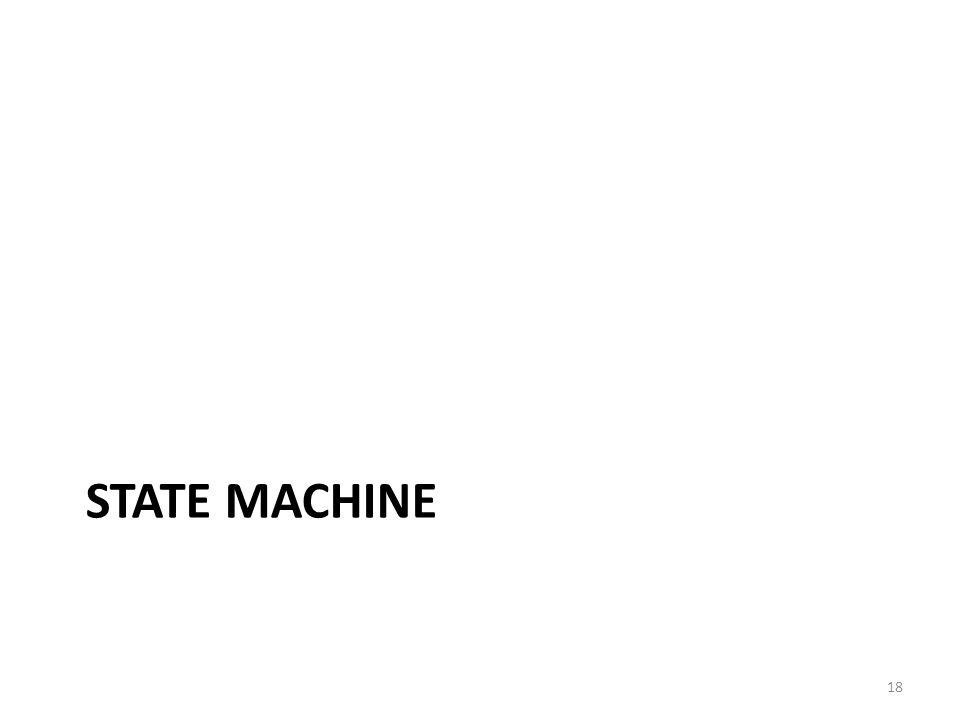 STATE MACHINE 18