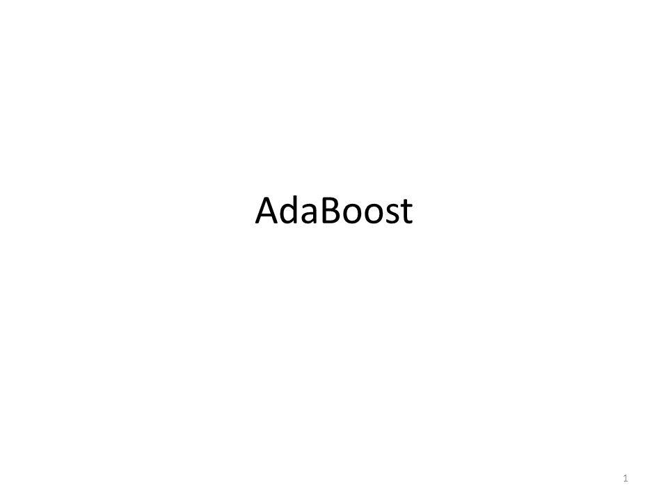 AdaBoost 1