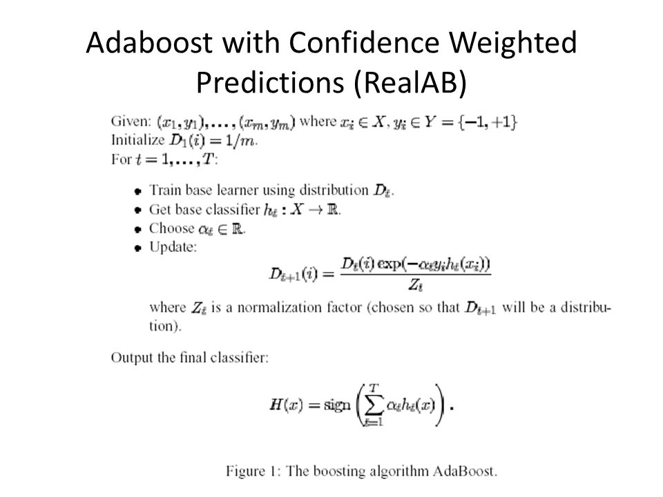 59 Adaboost with Confidence Weighted Predictions (RealAB)