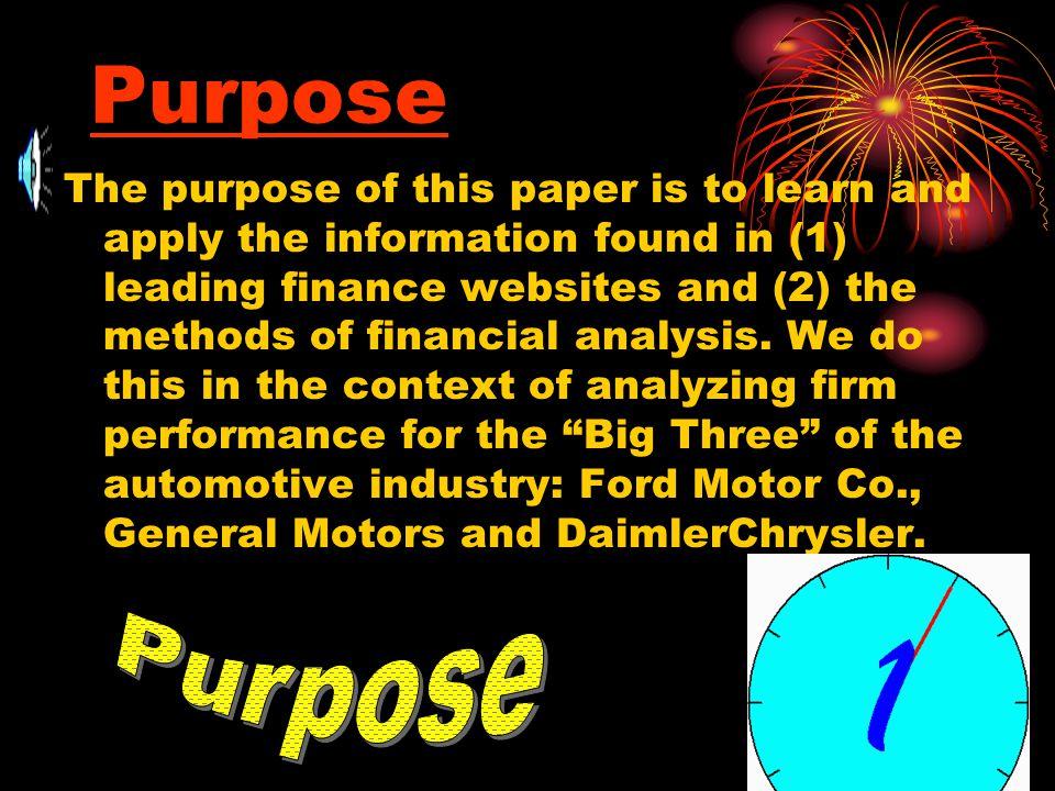 EXHIBIT 4: DuPont Analysis of DaimlerChrysler Corporation